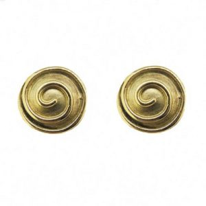 9ct swirl earrings