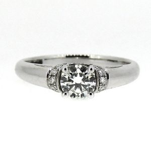 Diamond engagement ring      £2750.00
