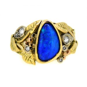 Organic Opal doublet ring    £2150.00